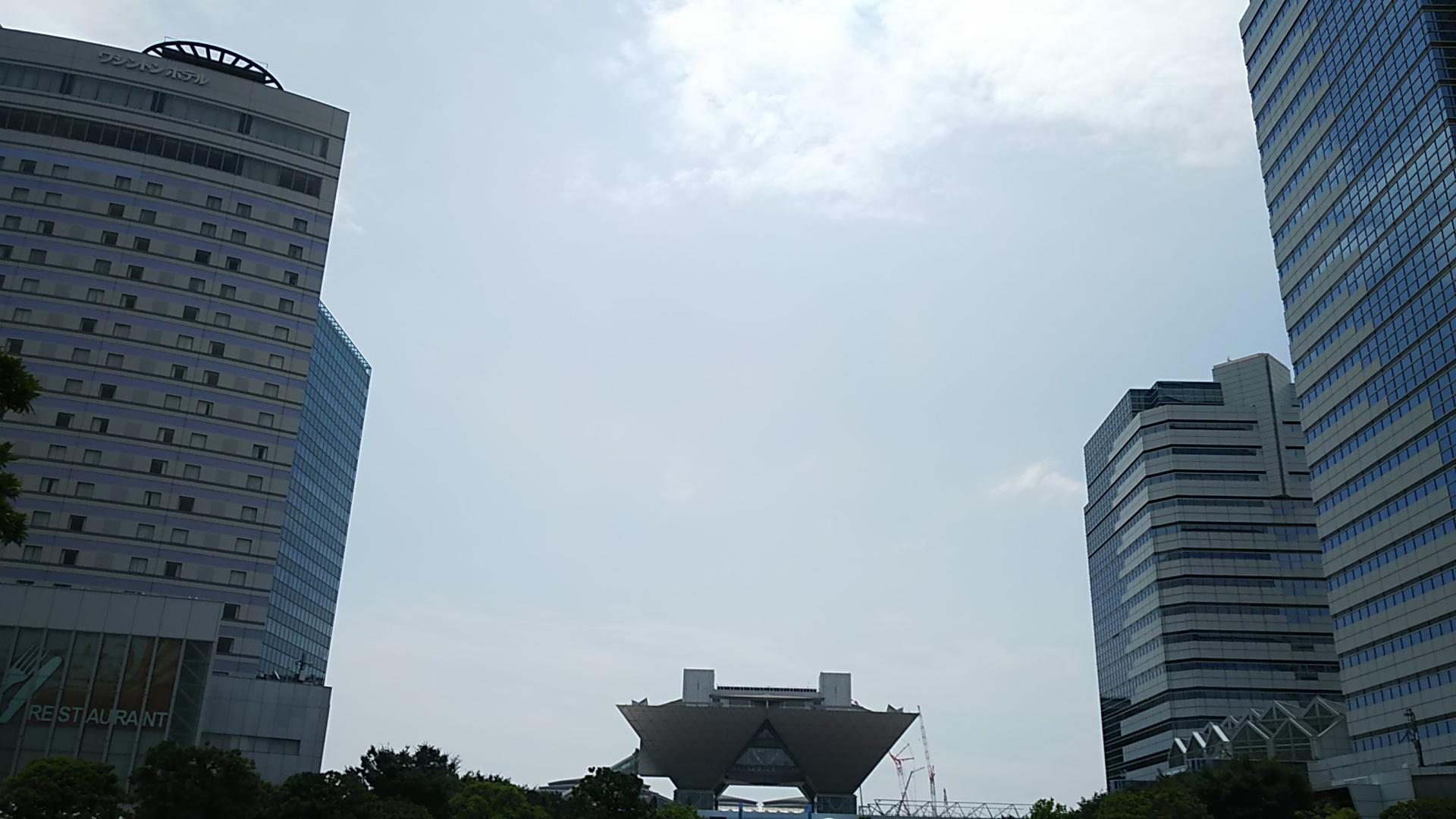午前中は曇りがちな天気で気温は低め、とはいえ湿度が高く不快指数はそれなり