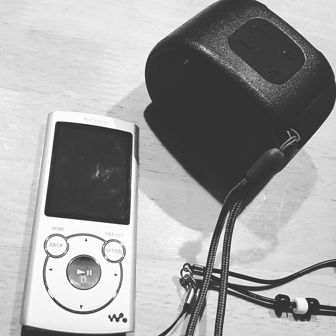 WalkmanとSRS-XB01B