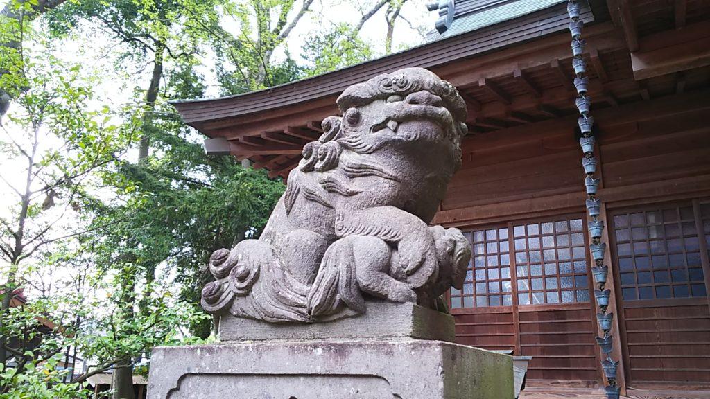 狛犬 吽形