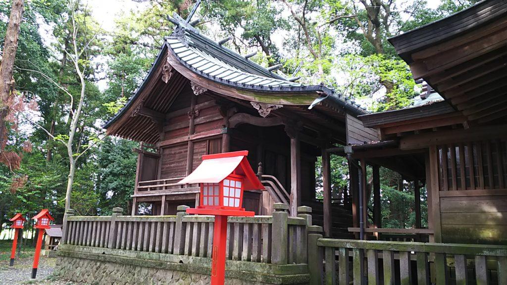 高椅神社 本殿