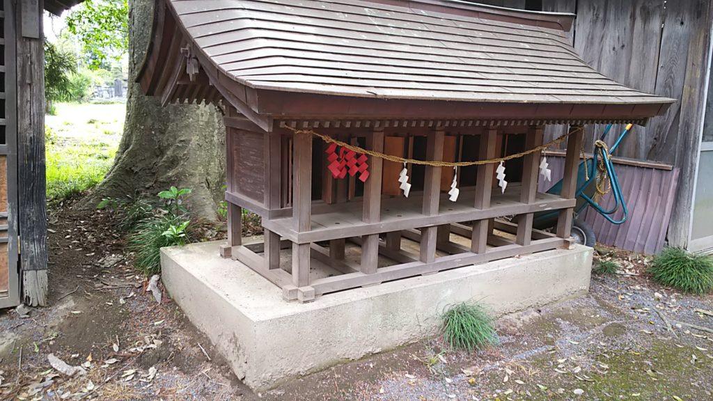高椅神社 境内社(一部)
