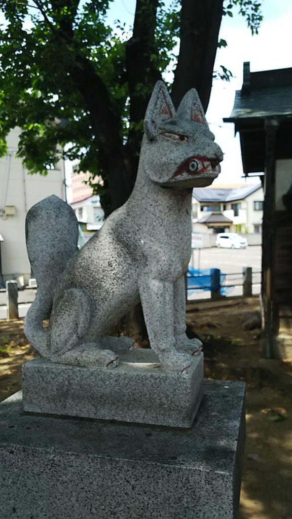赤烏神社 稲荷神社 お狐様