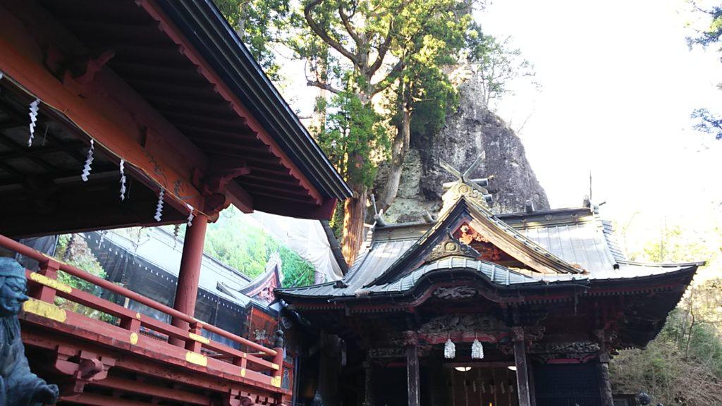 榛名神社 社殿