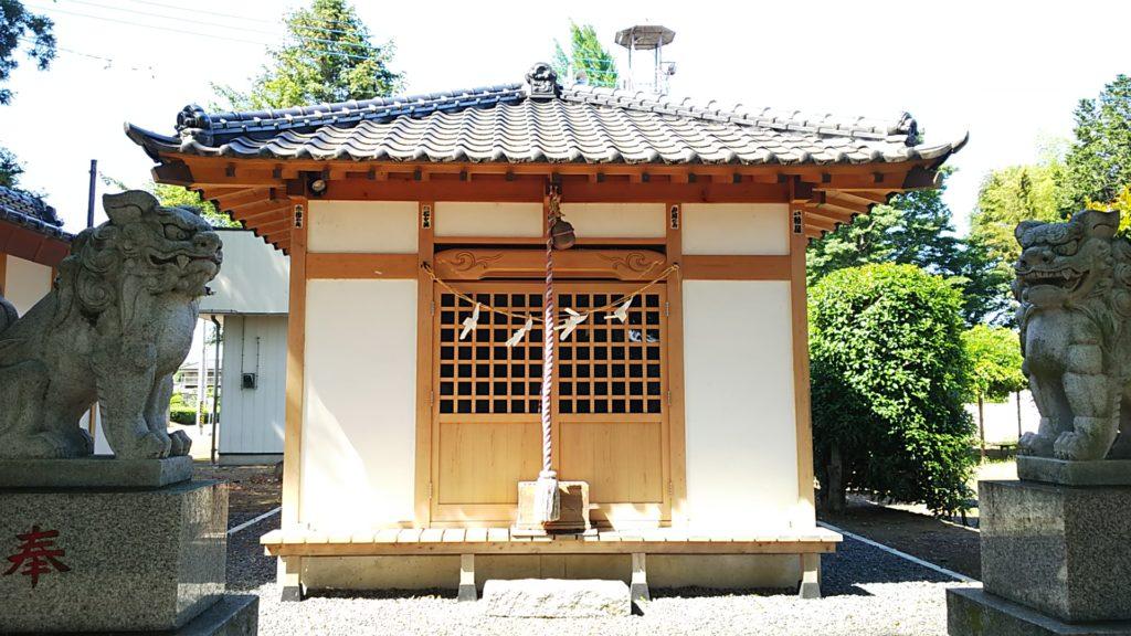 根渡神社 拝殿