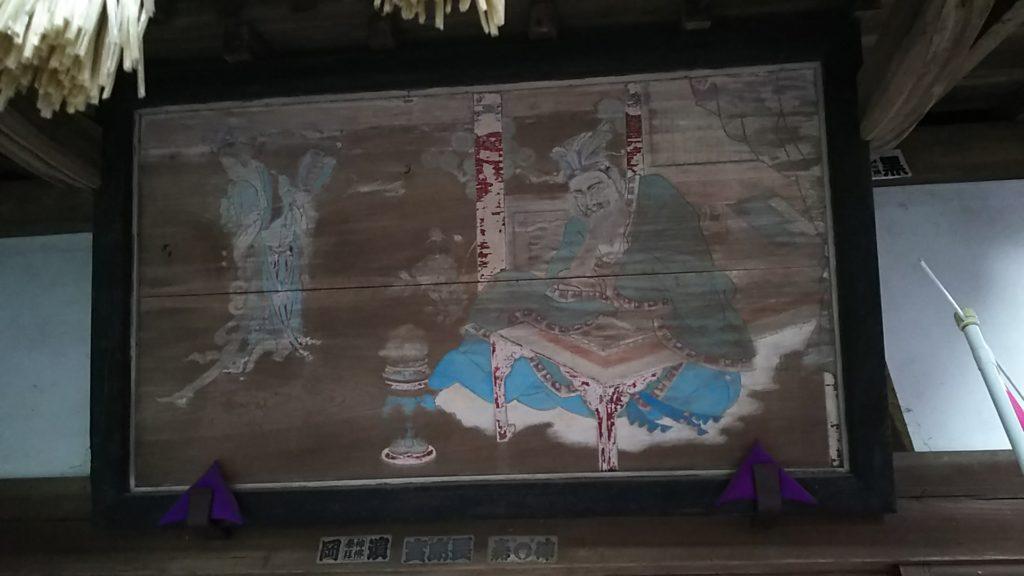 前玉神社境内、浅間神社