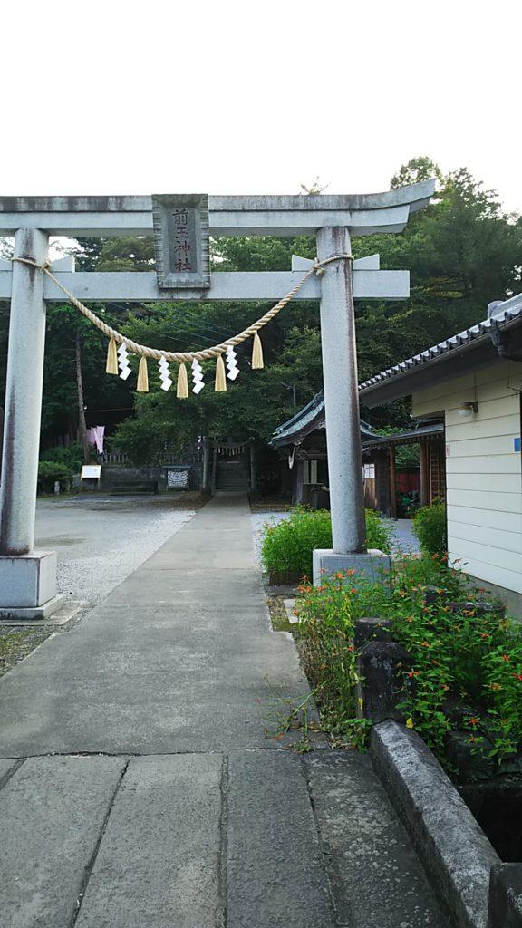 前玉神社二の鳥居