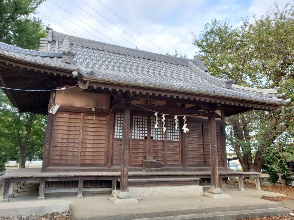 長良神社 拝殿