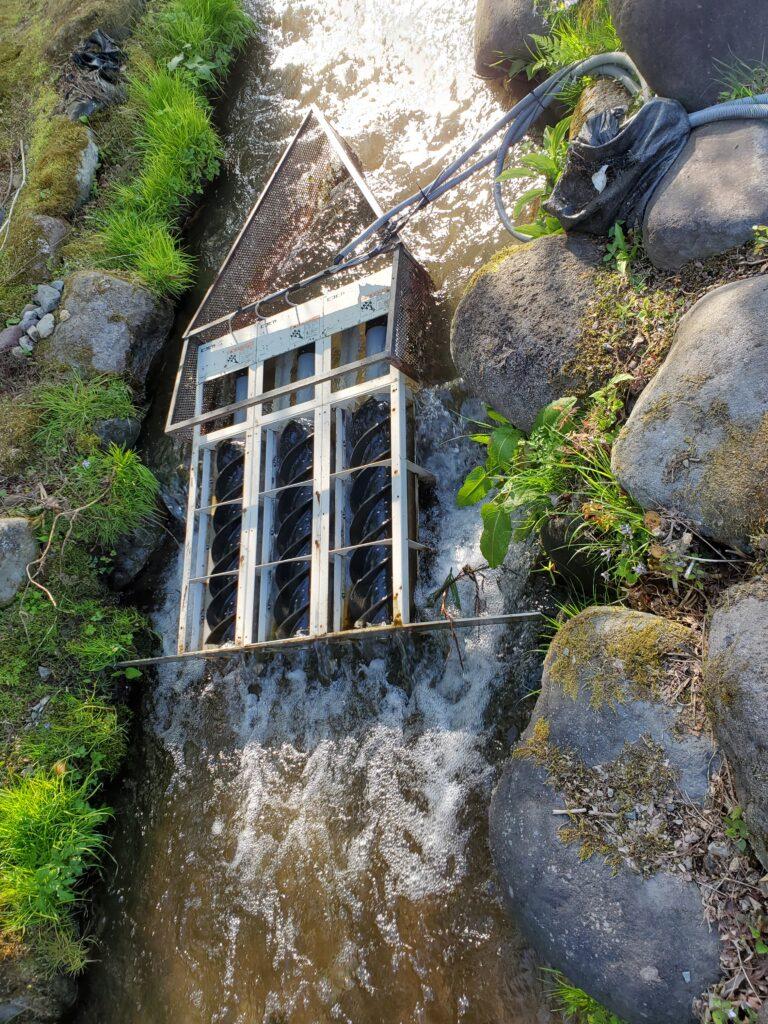 小型水力発電施設「ピコピカ」